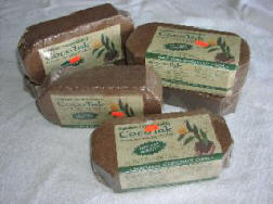 bricks of coco coir